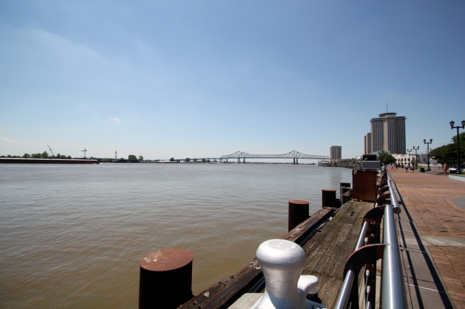 The Mississippi! I think I'd prefer to swim in the Williamette...