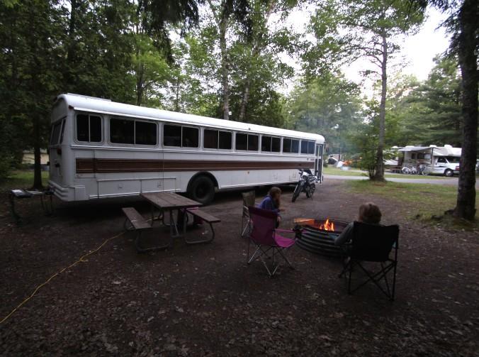 Campfire Tahquamenon
